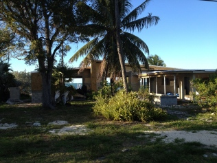 This is the rental house in Marathon - getting a facelift