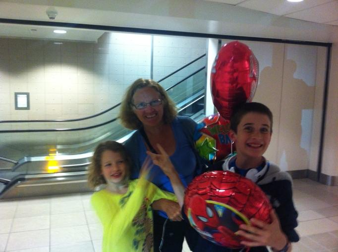 airport surprise